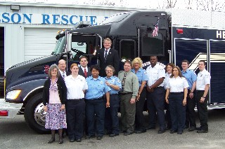 South Robeson Rescue new truck